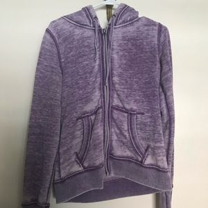 """Kings of Cole """"Just Say No To Plans"""" zip-up hoodie"""